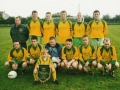 The Ballingarry starting line-up that lost 2-4 to Creeves in the Division 1 League Cup Final 2002.