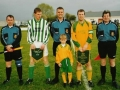 League Cup FInal 2001/02 - The opposing captains exchange pennants before kick-off.