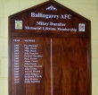 Lifetime Membership board