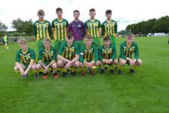 Ballingarry AFC Starting 11 Munster Youth Cup Semi-final