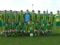 Ballingarry AFC Under 15s who drew with 0-0 with NCW in cup quarter final.