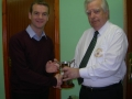 Micheal Clancy A Team player of the year 2012-13