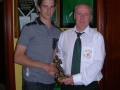 Daven Meehan B team Player of the Year 2013/14