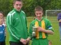 u14cup2012-Alan Murphy receiving cup from Tom Ambrose