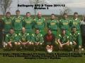 Ballingarry AFC B Team 2011/12