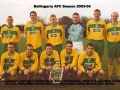Ballingarry AFC A team 2003/04