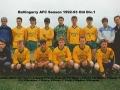 Ballingarry AFC A team 1992/93