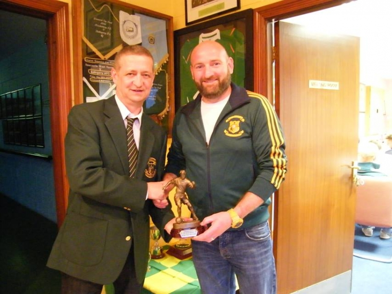 players of the year ballingarry afc