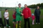Brian accepts his award from PJ Hogan of the LDFL