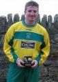 John O'Grady receives his player of the year award