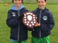 LDSL U12 Inter League squad 2014-15 - Ballingarrys Michael Molloy (right) joint captain