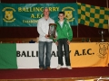 LDSL U/12 Interleague Squad 2010 - Cathal O'Keeffe with Kevin Clifford and the Munster Trophy