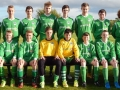 LDSL Kennedy Cup squad 2015. Keith O'Kelly (6th from left sitting) and Mark Hayes (3rd from right sitting) of Ballingarry AFC.
