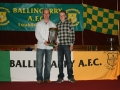 LDSL U/12 Interleague Squad 2010 - Mikey Morrissey with Kevin Clifford and the Munster Trophy