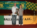 LDSL U/12 Interleague Squad 2010 - Nathan Clancy with Kevin Clifford and the Munster Trophy