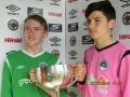 U15 Desmonds V NDSL All Ireland Final 2016 - Ballingarry boys Mark Hayes and Keith O'Kelly.