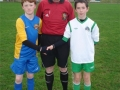 Ballingarrys Michael Molloy (right) captain LDSL U12 Inter League team 2014-15