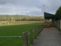 A view of Ballingarry AFC's pitch and spectator stand