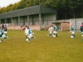 The Under 10s practice at the Summer Camp.