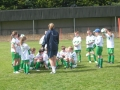 Coach Jenny Lyttle with the Under 10s