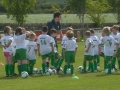 Coach Sean Fennessey with the Under 6s