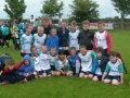 Mikey with the Under 10s