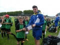 Adam Picard gets his cert from Stephan Behan
