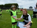 Muireann with coach Claire