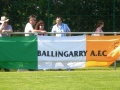 The flag at the Under 12 All Ireland Final May 2010 (Wayside Celtic). LDSL v DDSL