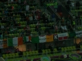 The Flag hangs proudly in Gdansk during Ireland v Spain Euro 2012
