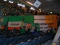 The Flag hangs proudly in the Friends Arena Stockholm WCQ 2014