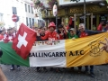 The Flag, spotted in Dublin with Switzerland supporters Euro 2020 Q September 5th 2019.
