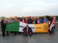 The flag visits Old Town, Warsaw 11-10-15