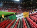 The flag on display in Old Trafford 29-9-16