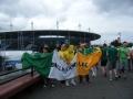Outside The Stade de France at Euro 16