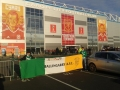 Outside stadium at Wales v Ireland World Cup Qualifier 9-10-17