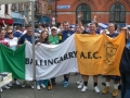 The Flag in Temple Bar before Ireland v Scotland Euro 2016 Qualifier 13/06/15