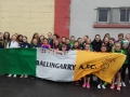 U12 and U14 Girls heading off to The Aviva for Ireland v Austria June 11th 2017