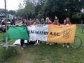 With Denmark supporters Copenhagen 7-6-2019
