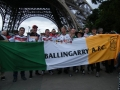 With German supporters in Paris during Euro 16