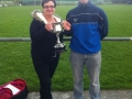 Managers Martha O'Connor and Daniel MacAuliffe