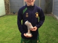 David Moloney U12 B player of the year