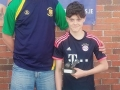 David Clancy U13 Most improved player
