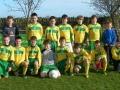 Ballingarry AFC Under 11 squad 2010/11