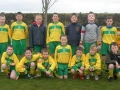 Ballingarry AFC Under 11 squad 2009/10