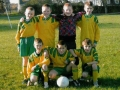 Ballingarry AFC Under 10 team v Shauntrade, Under 10 Cup Round 1, November 2005.