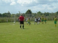Ballingarry attack the NCW goal.