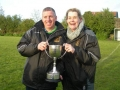The managers, Noel Molloy and Sarah Lynch