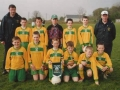 Ballingarry AFC starting eleven before the Under 11 cup final at Knockdown park on 2nd May 2005.