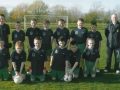 Ballingarry Under 11 cup final squad with manager John Clancy.
